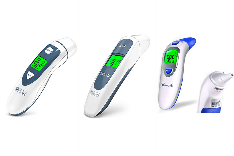 The 10 Most Accurate Forehead and Ear Thermometer for Kids