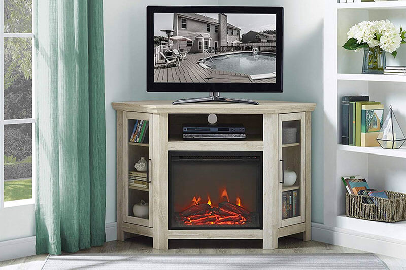 Top 10 Best Corner Fireplace TV Stand of 2020 Review