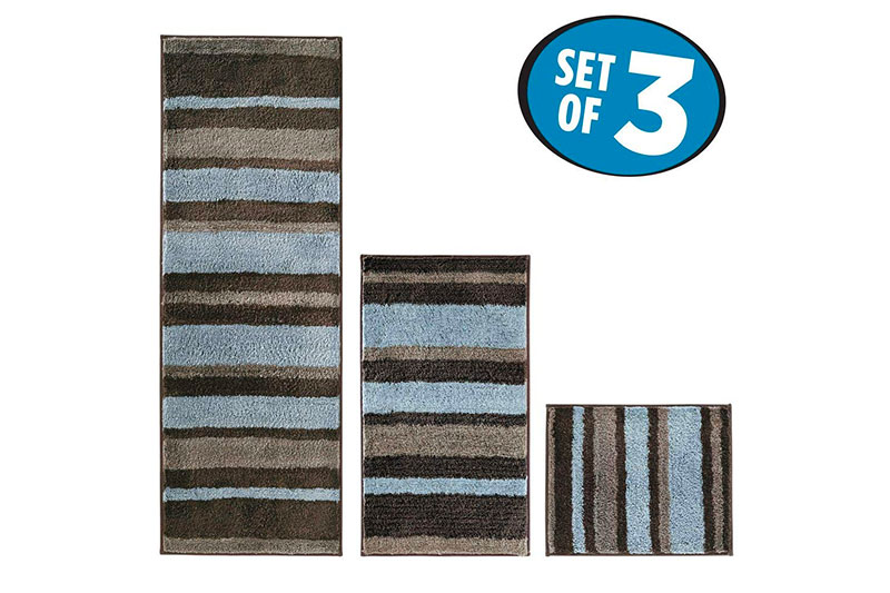 Top 10 Best Striped Bathroom Rugs of 2019 Review