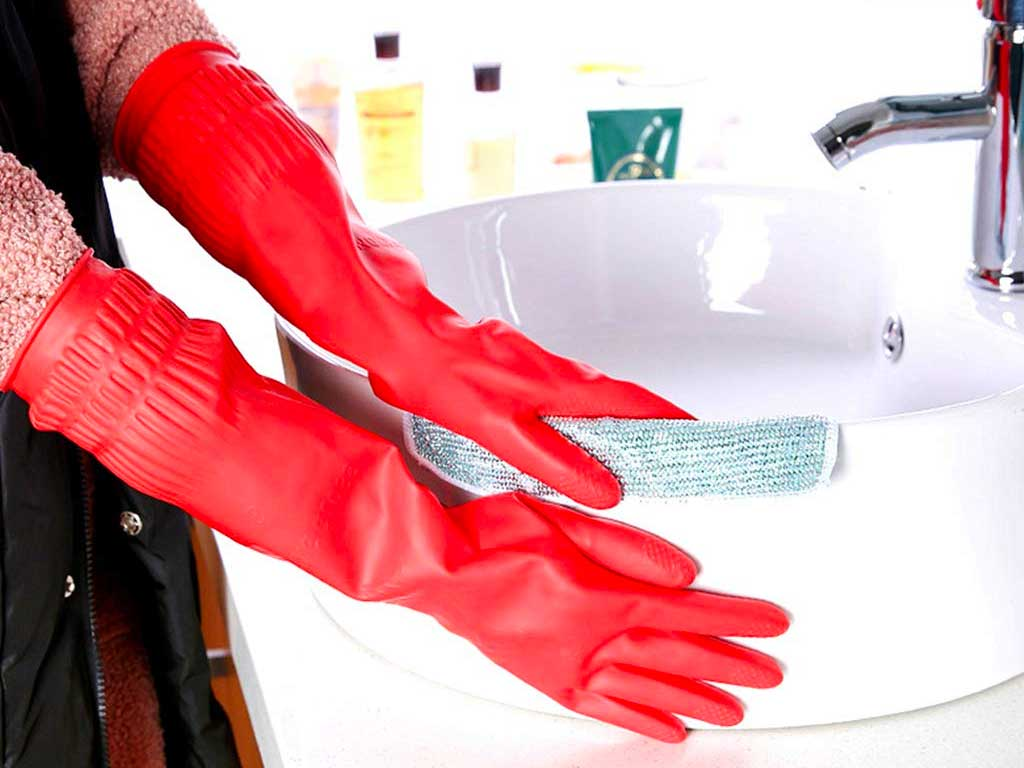 Top 10 Best Dishwashing Gloves of 2020 Review