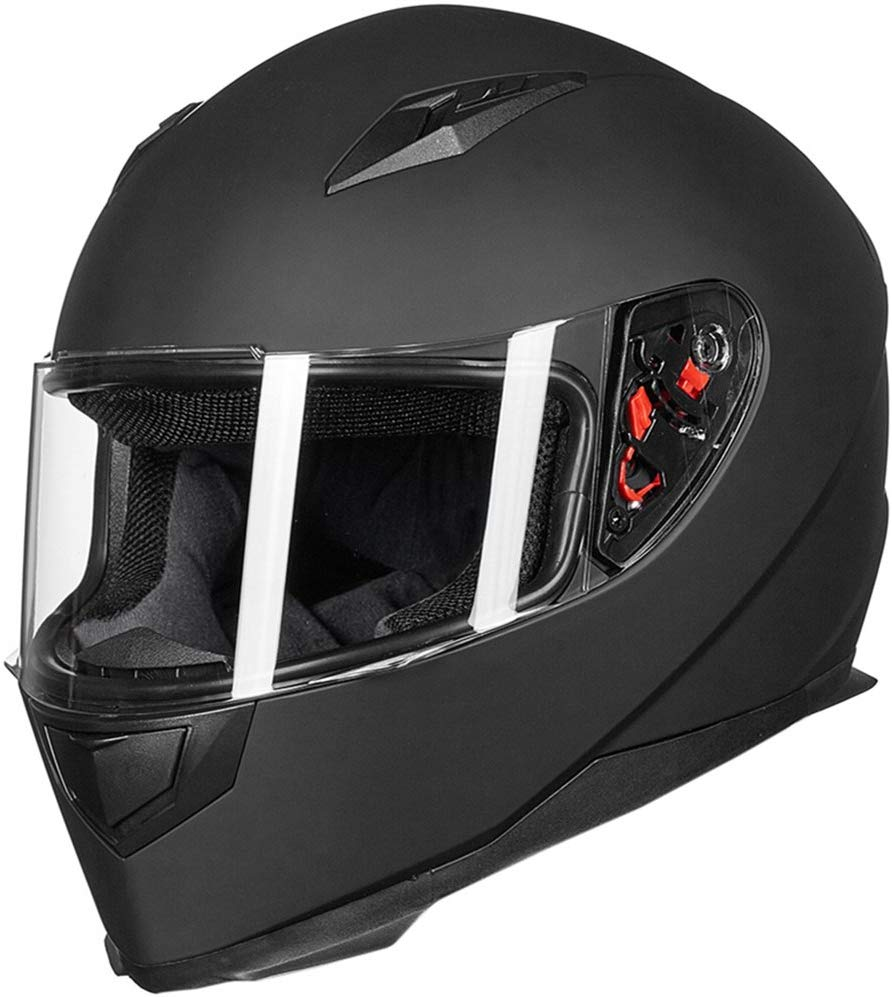 Top 10 Best Matte Black Motorcycle Helmet of 2019 Review
