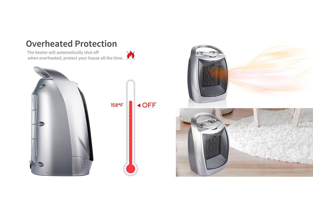 1500W / 750W Ceramic Space Heater