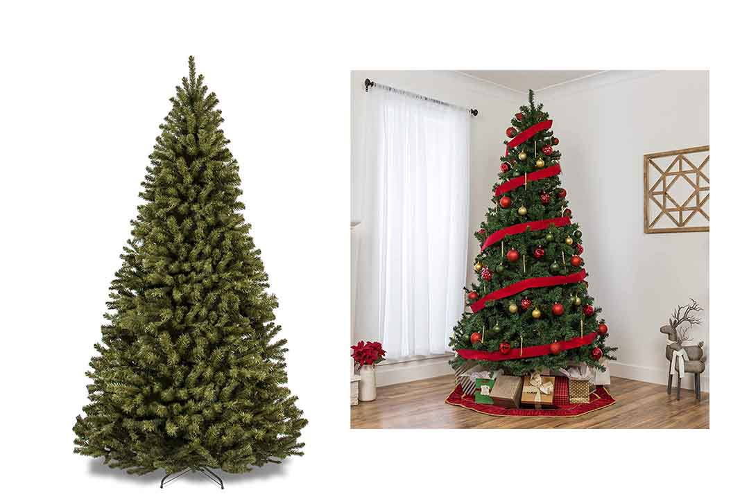 9 Ft Spruce Hinged Artificial Christmas Tree