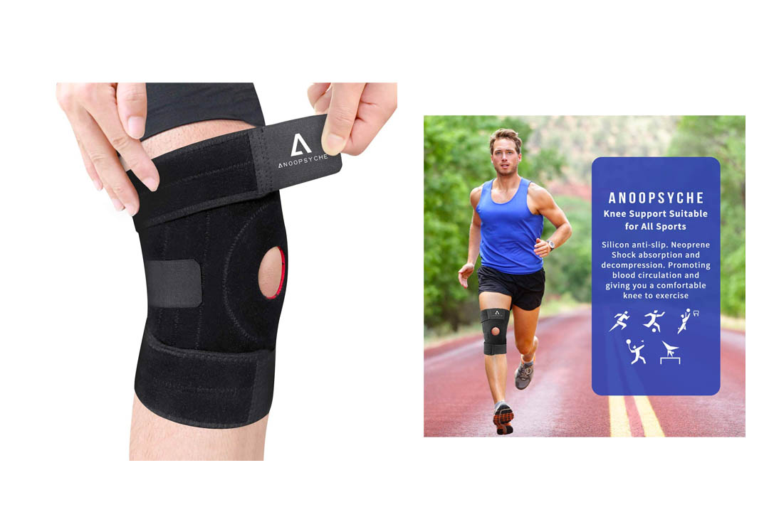 Anoopsyche Knee Brace Support Adjustable Non Slip