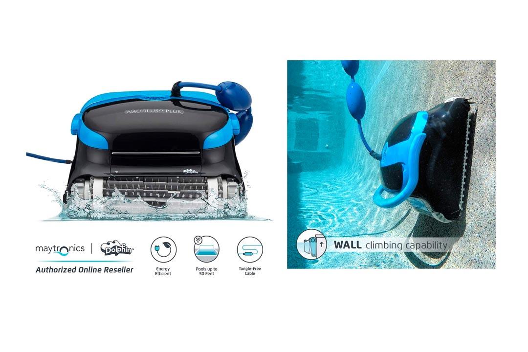 Dolphin Nautilus Automatic Robotic Pool Cleaner