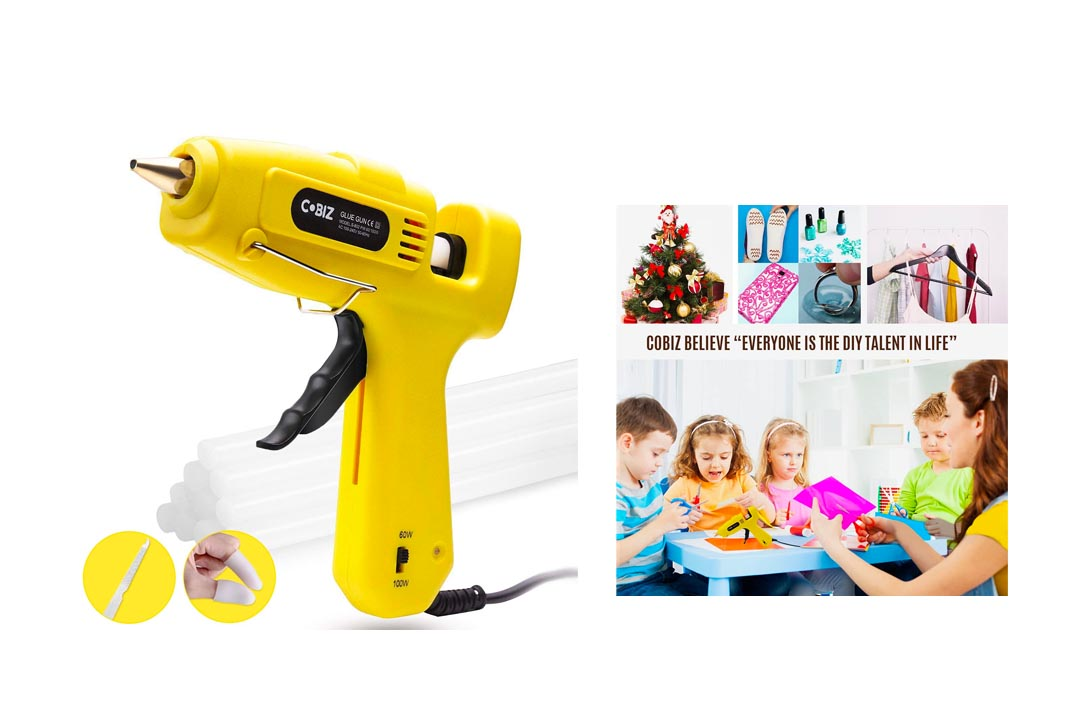 Hot Glue Gun, Cobiz Full Size