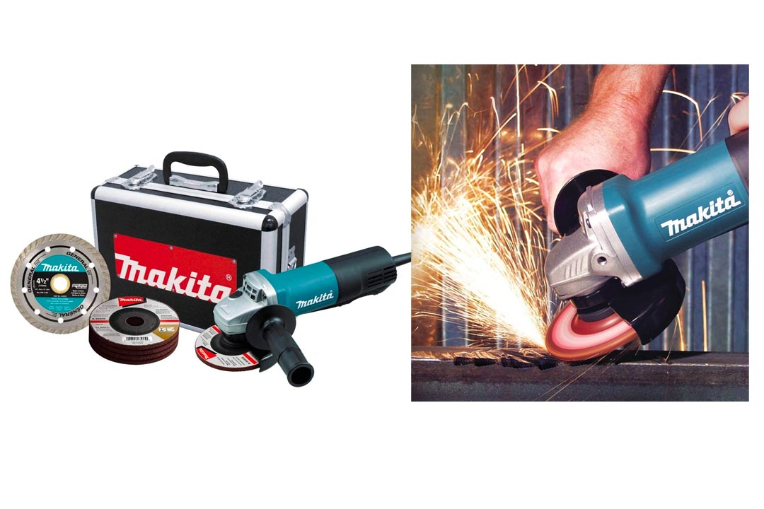 Makita 9557PBX1 4 1/2 Inch Paddle Switch Angle Grinder