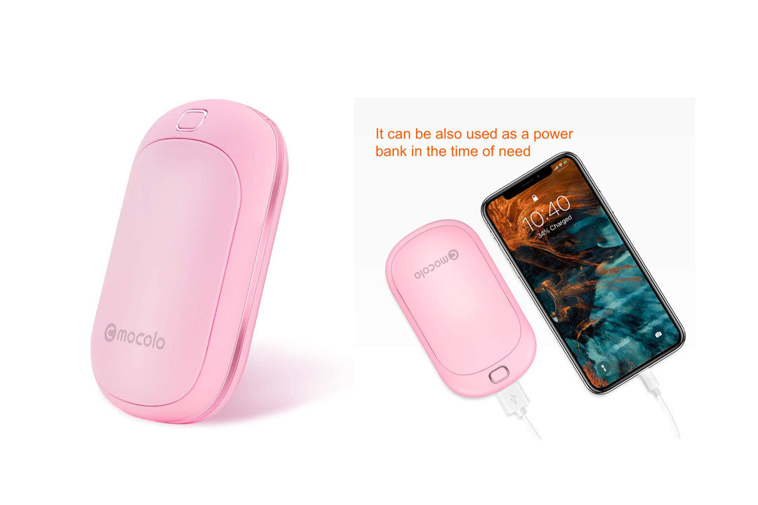 Mocolo 5200mAh Hand Warmers Rechargeable Reusable