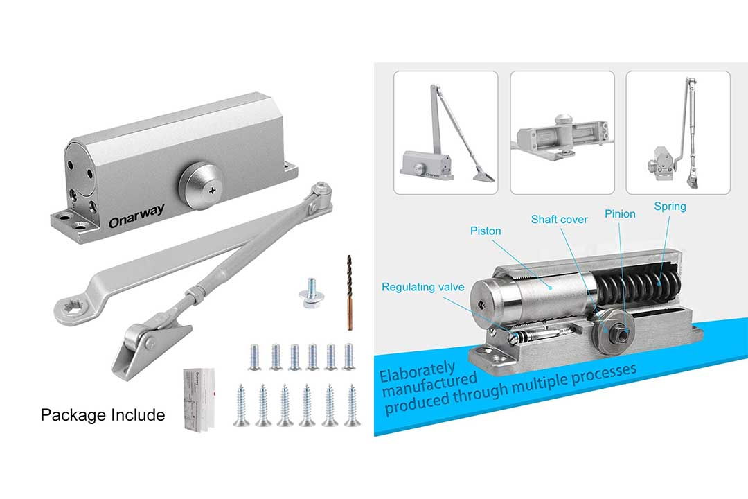 Onarway Adjustable Automatic Door Closer