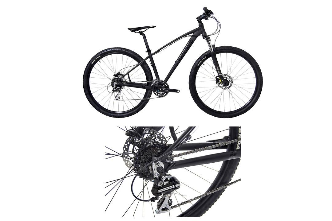 Tommaso Gran Sasso 29er Mounain Bike Hydraulic Disc Hardtail Best Looking MTB Matte Black
