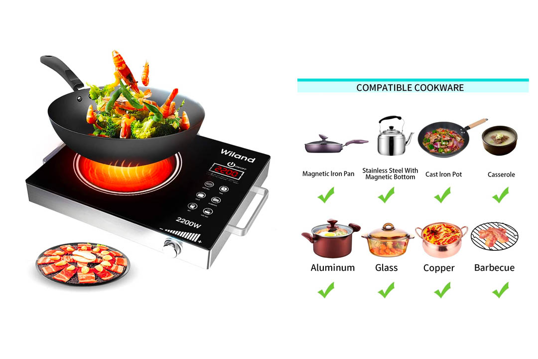 Touch Sensor Electric ceramic cooker
