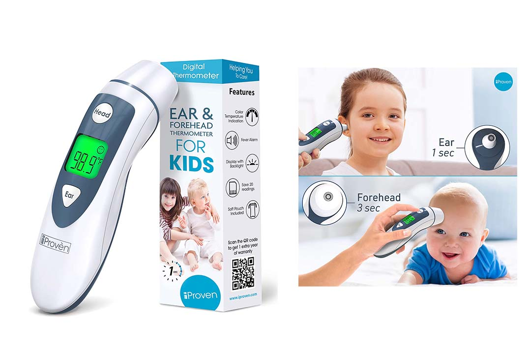 iProven DMT-489 Ear Thermometer with Forehead Function