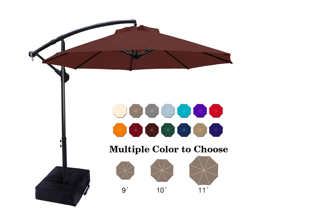 ABCCANOPY Cantilever Offset Patio Umbrella