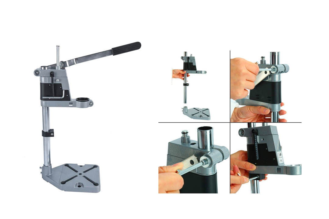 Adjustable Drill Press Stand Drill Workbench Repair Tool