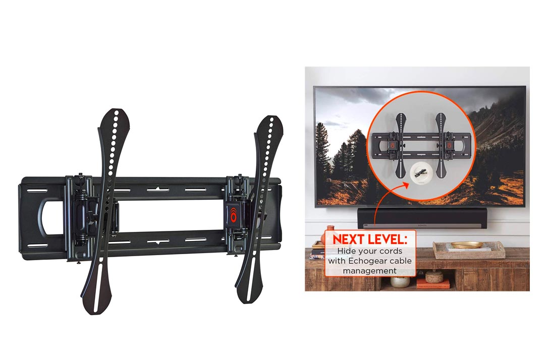 ECHOGEAR Full Tilt TV Wall Mount - Advanced Extendable Bracket