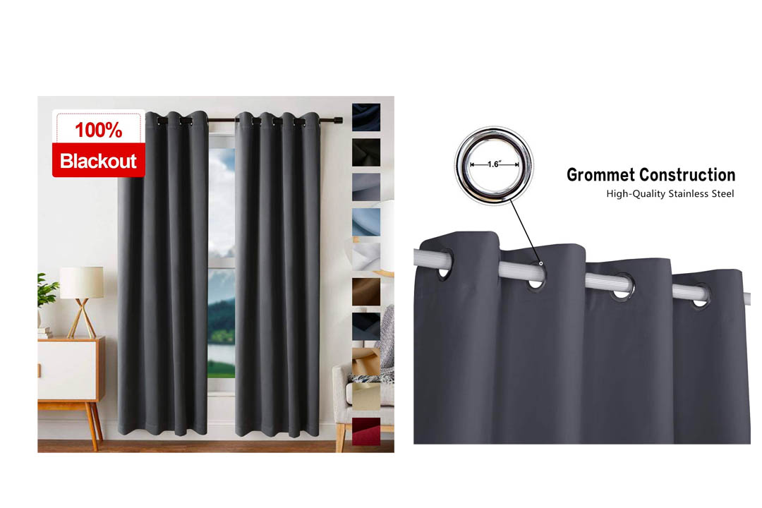 EDILLY Blackout Curtains for Bedroom