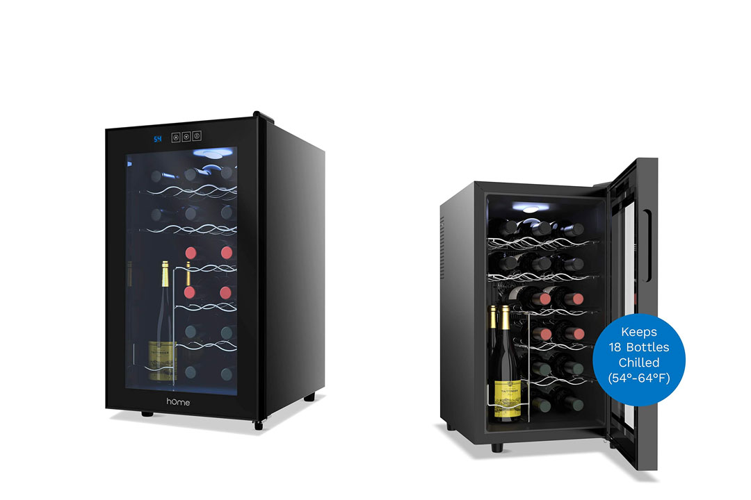 Home labs 18 Bottle Winery Cooler Free Standing Single Zone Fridge