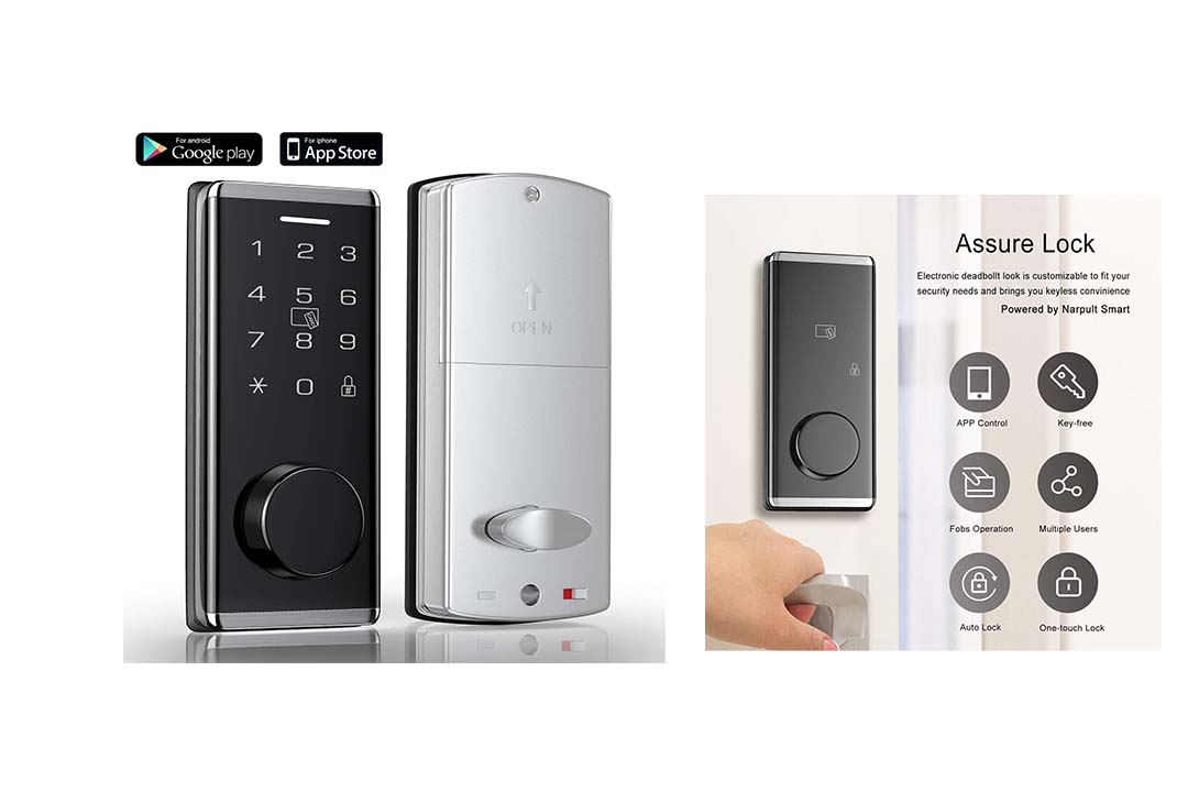 InteTrend Bluetooth Enabled Electronic Deadbolt