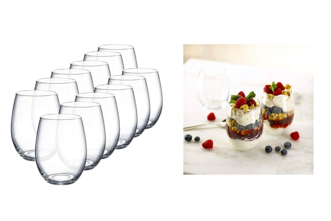 Luminarc Perfection Stemless Wine Glass