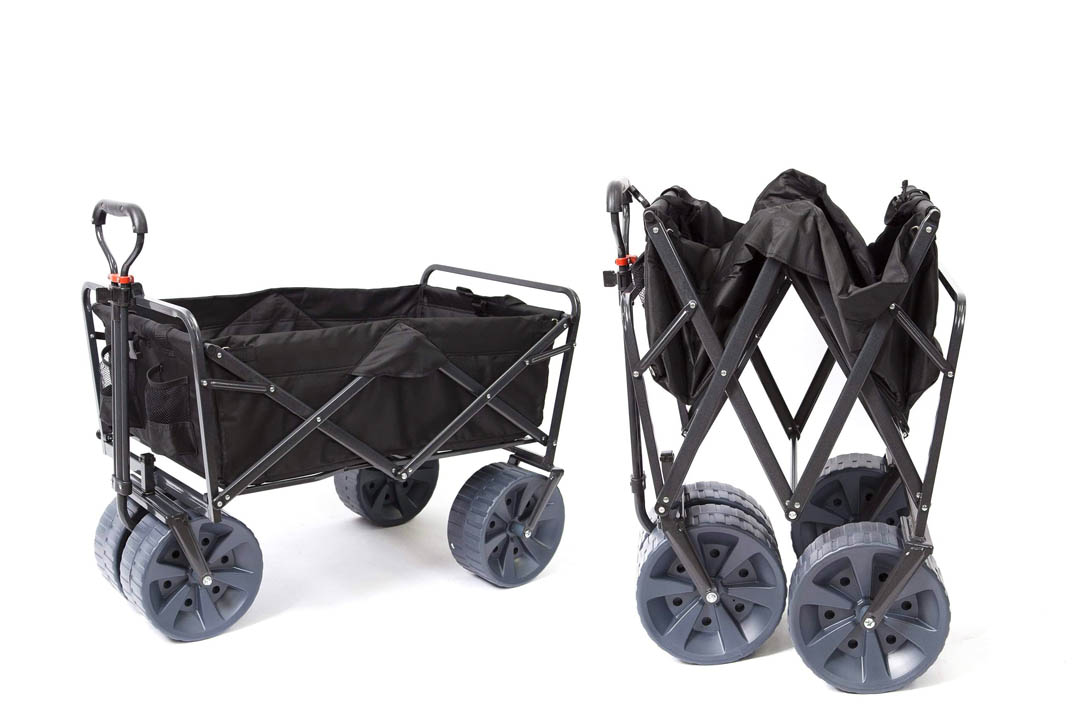 Mac Sports Heavy Duty Collapsible All utility Wagon Beach Cart
