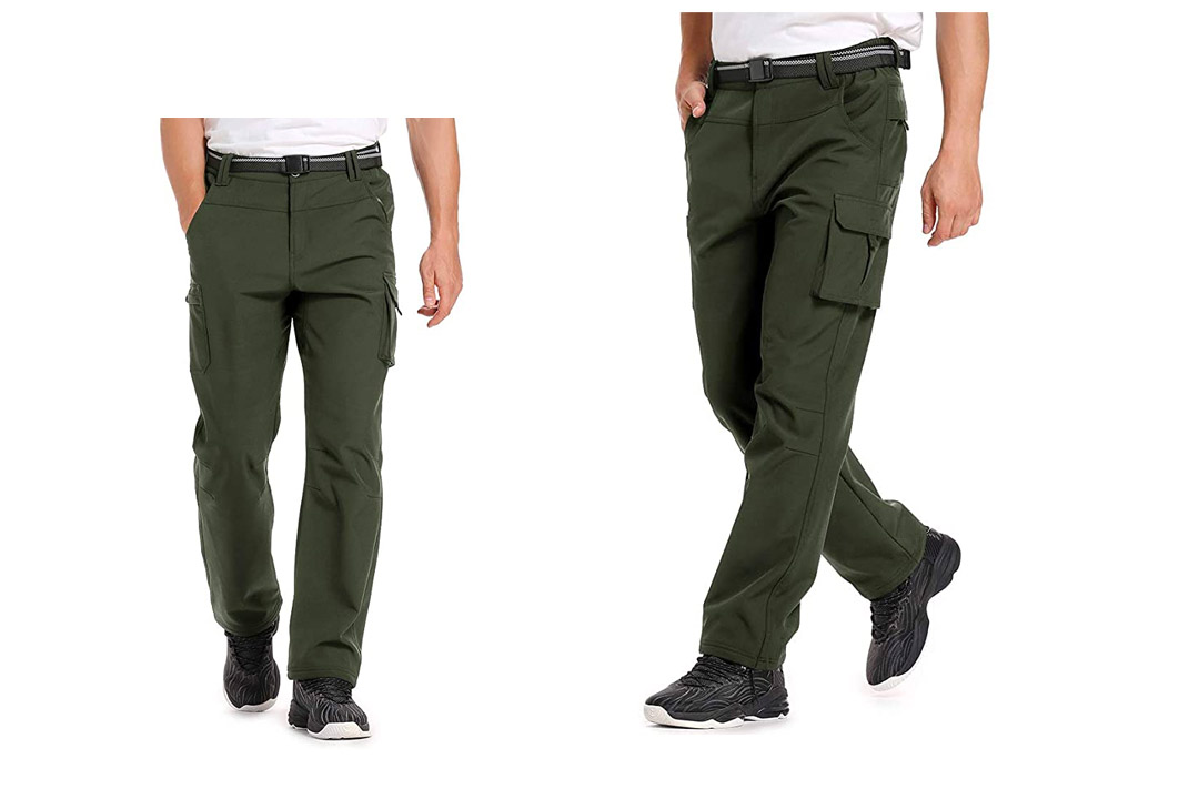 Men's Convertible Travel Ski Pants