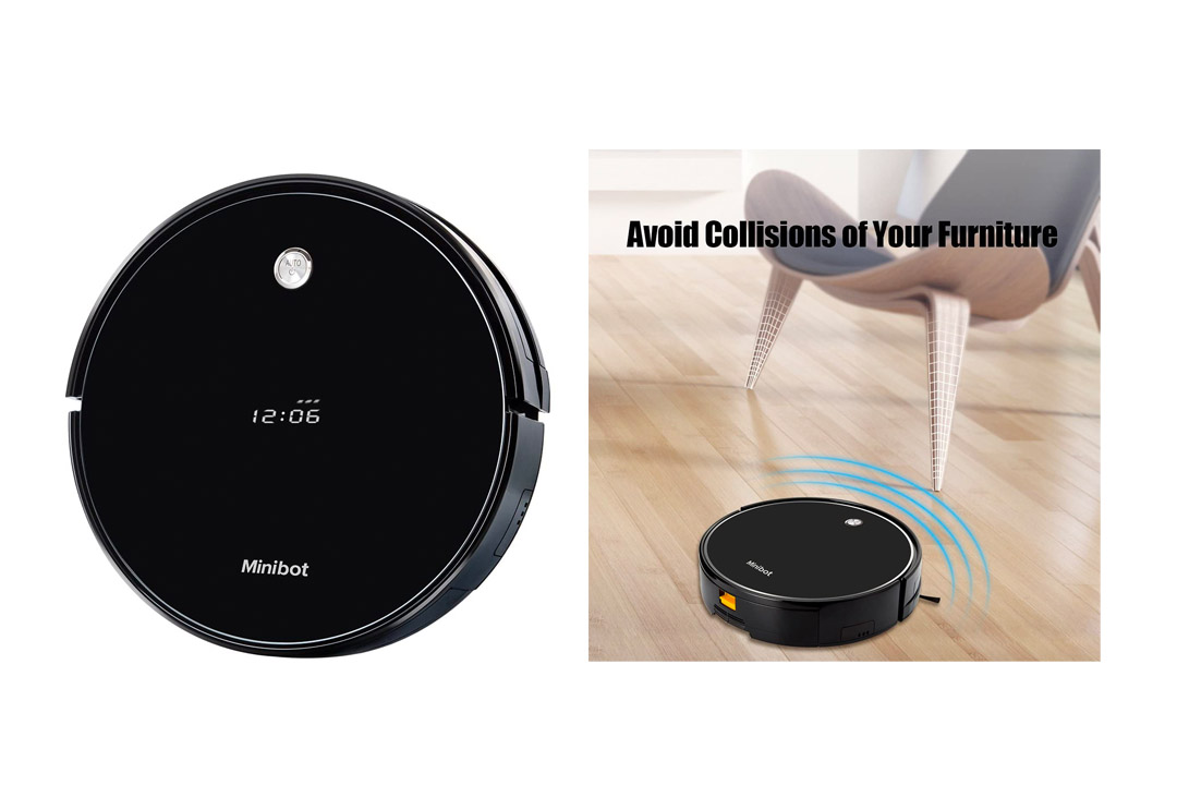 Minibot Robotic Vacuum and Mop Cleaner