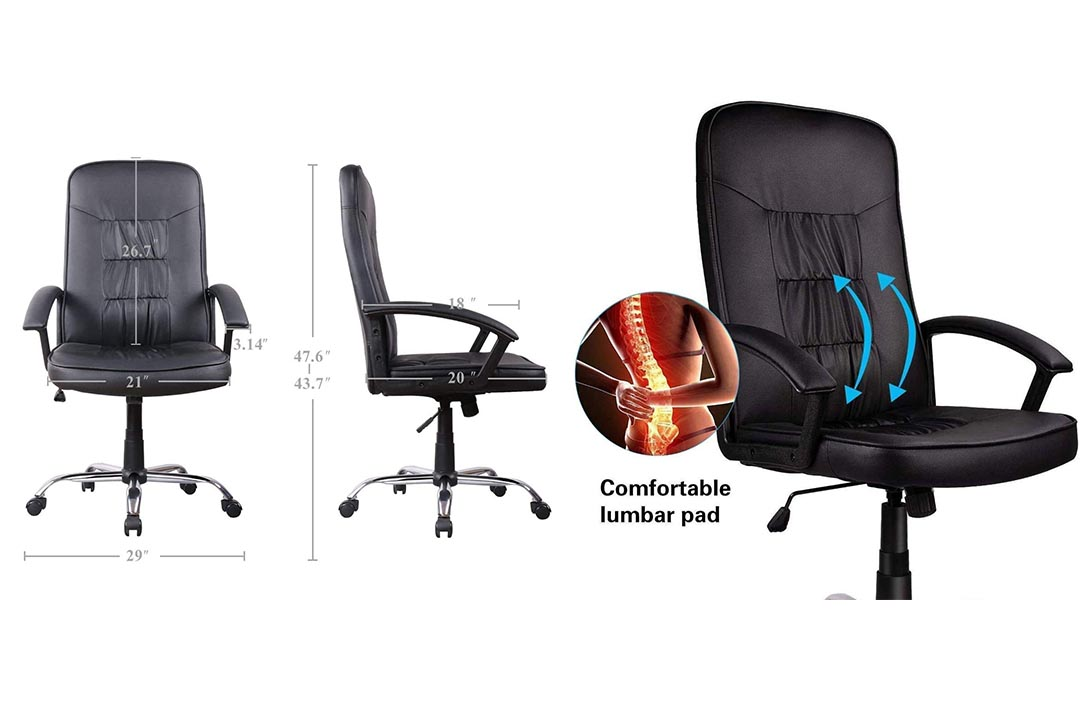 ORVEAY Heavy Duty Executive Office Chair