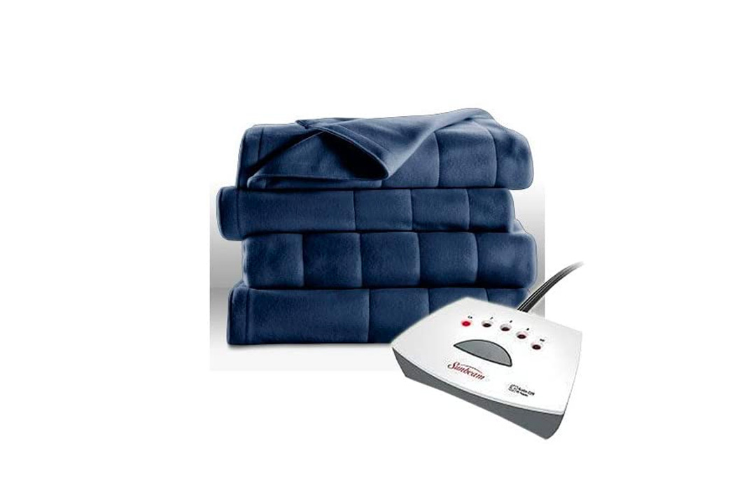 Sunbeam Fleece Heated Blanket