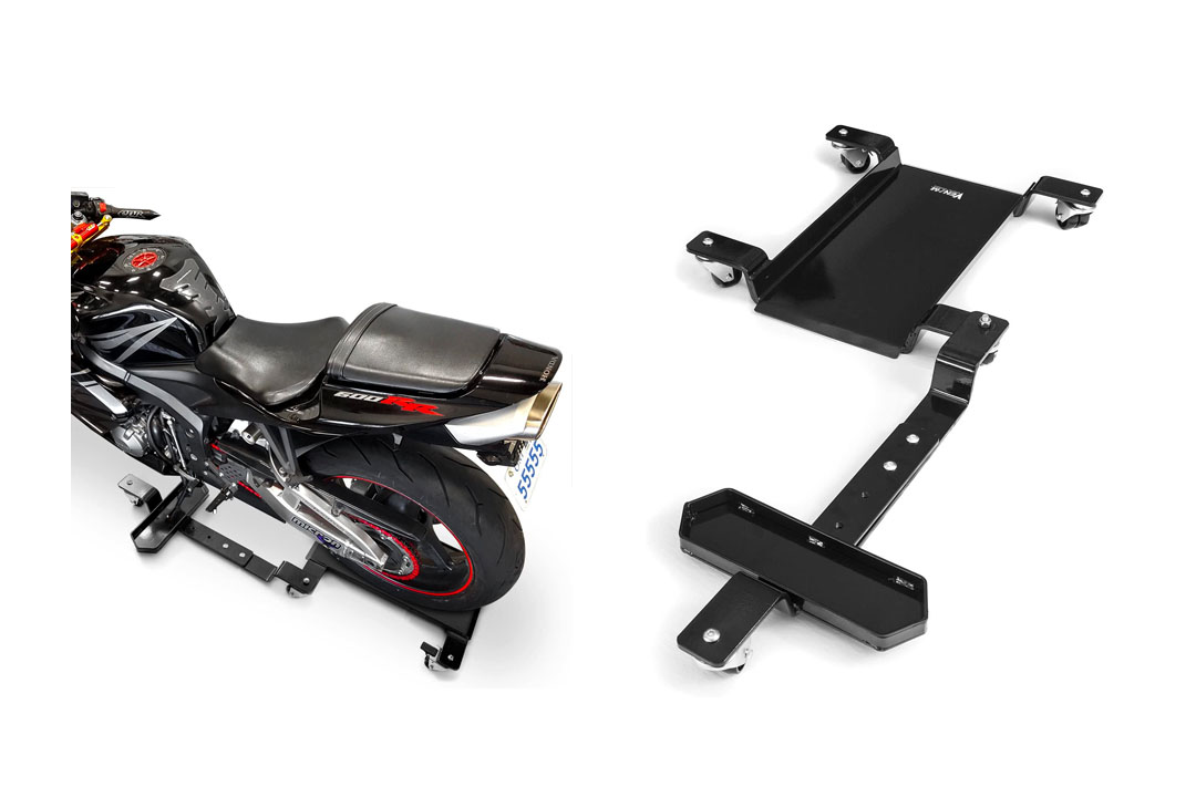 Venom Motorcycle Mover Dolly Cruiser Side Stand