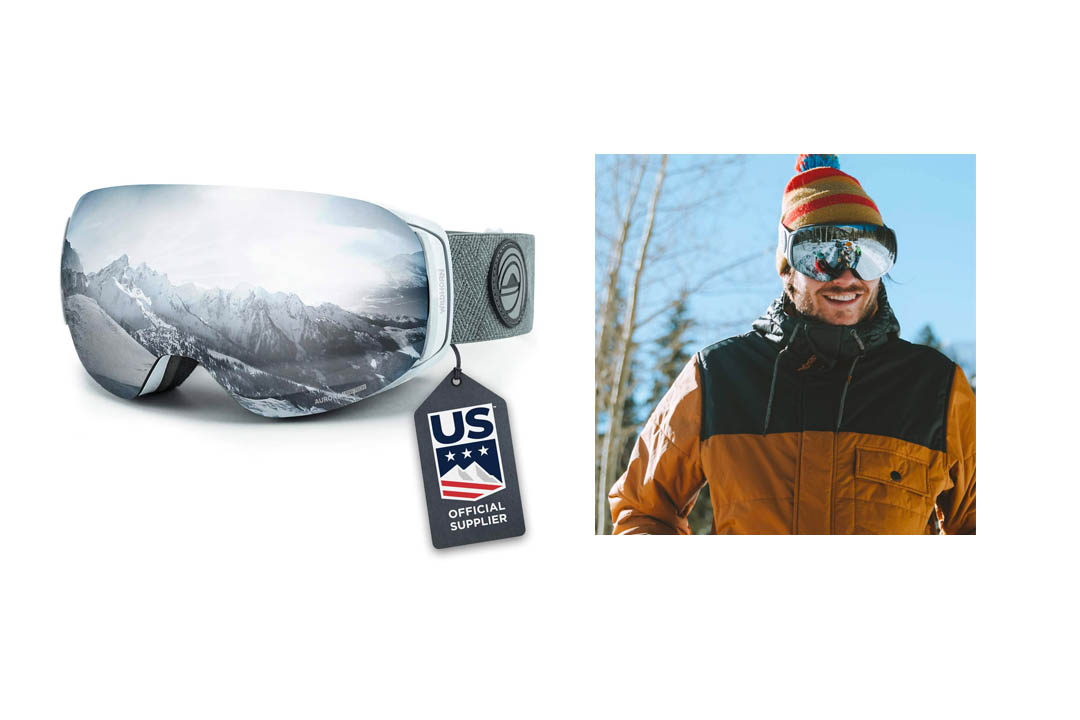 Wildhorn Roca Snowboard and Ski Goggles