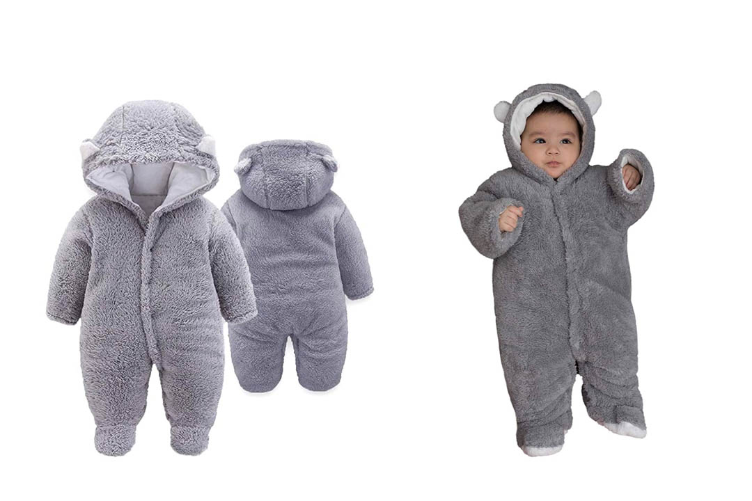 XMWEALTHY Unisex baby Cloth Winter Coats