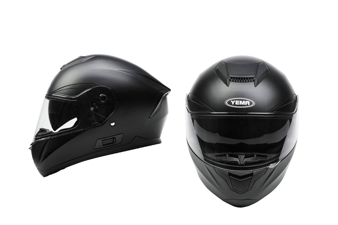 YEMA YM-831 Motorbike Moped Street Bike Racing Crash Helmet