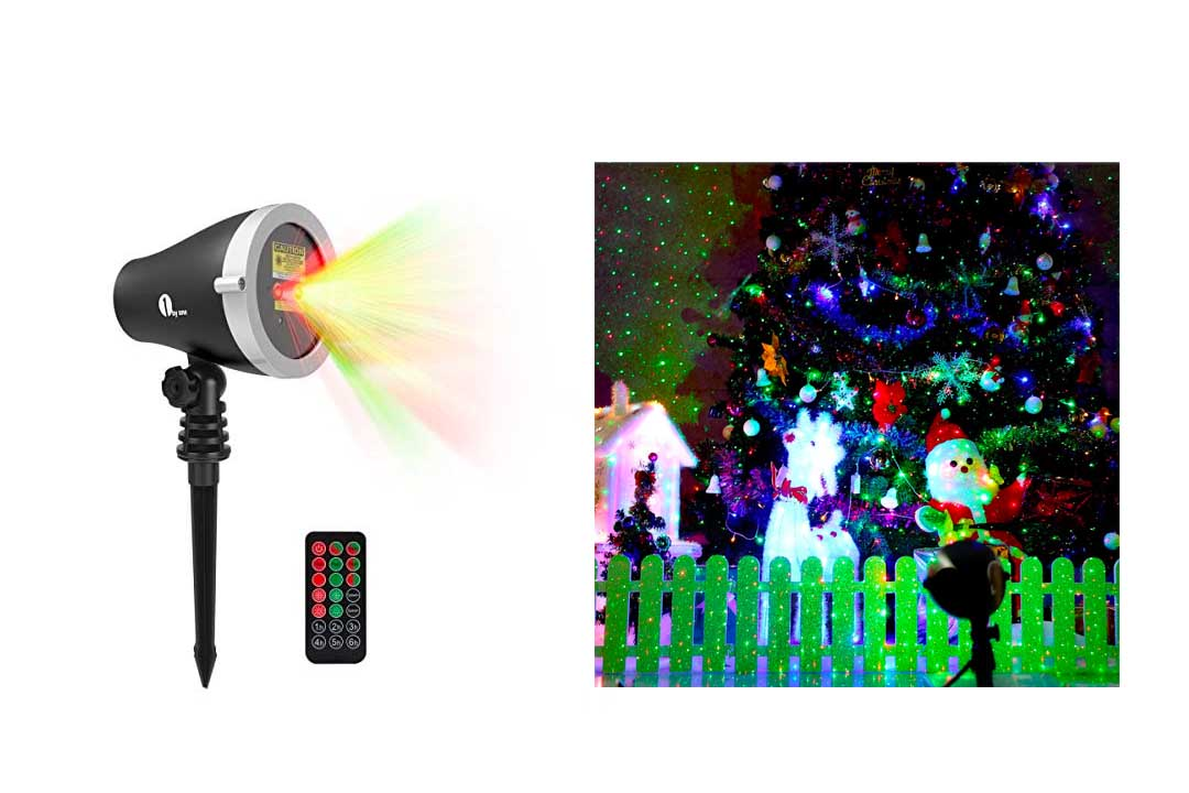 1Byone Christmas Outdoor Laser Light Projector