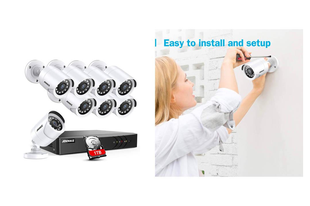 ANNKE 8CH Security Surveillance System