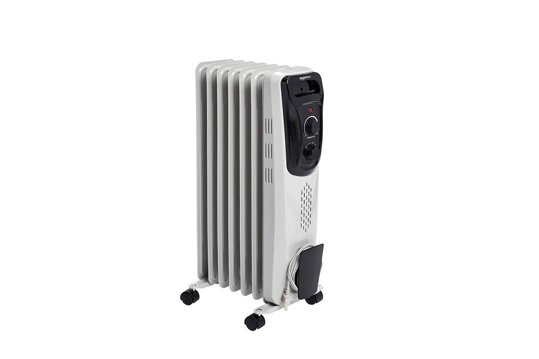 AmazonBasics Portable Radiator Heater