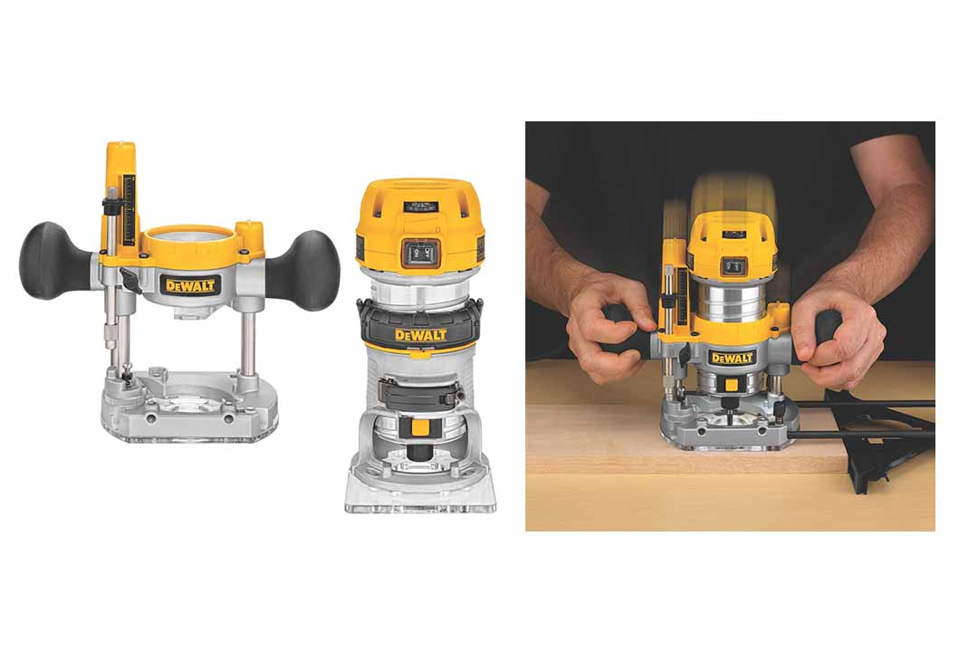 DEWALT Fixed/Plunged Router