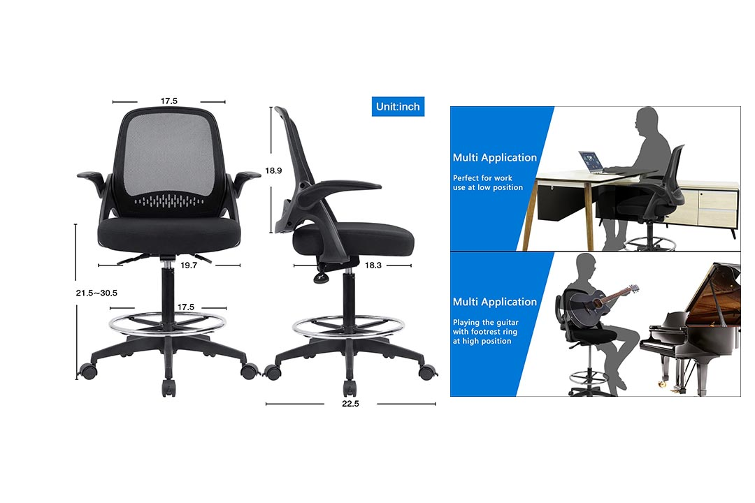 Devoko Drafting Chair