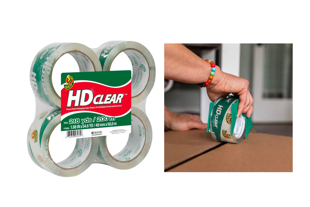 Duck HD Clear Heavy Duty Packaging Tape