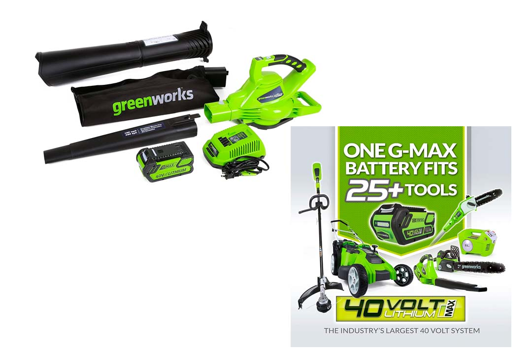 Greenworks 40V 185 MPH Rate Cordless Blower
