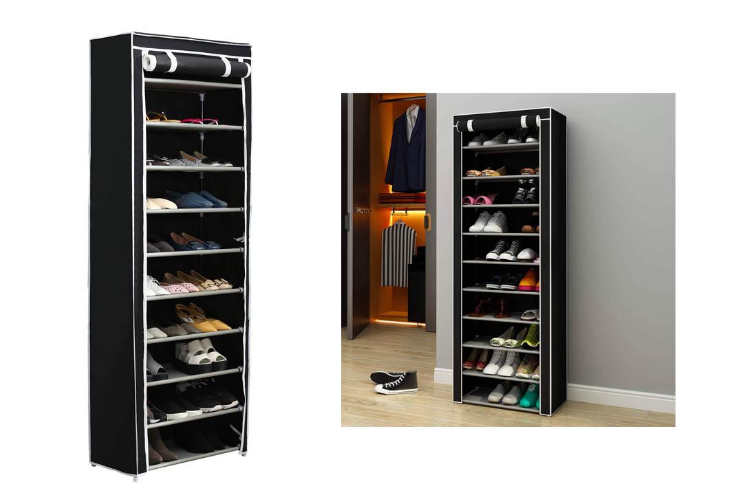 Home-Like 10-Tier Shoe Rack