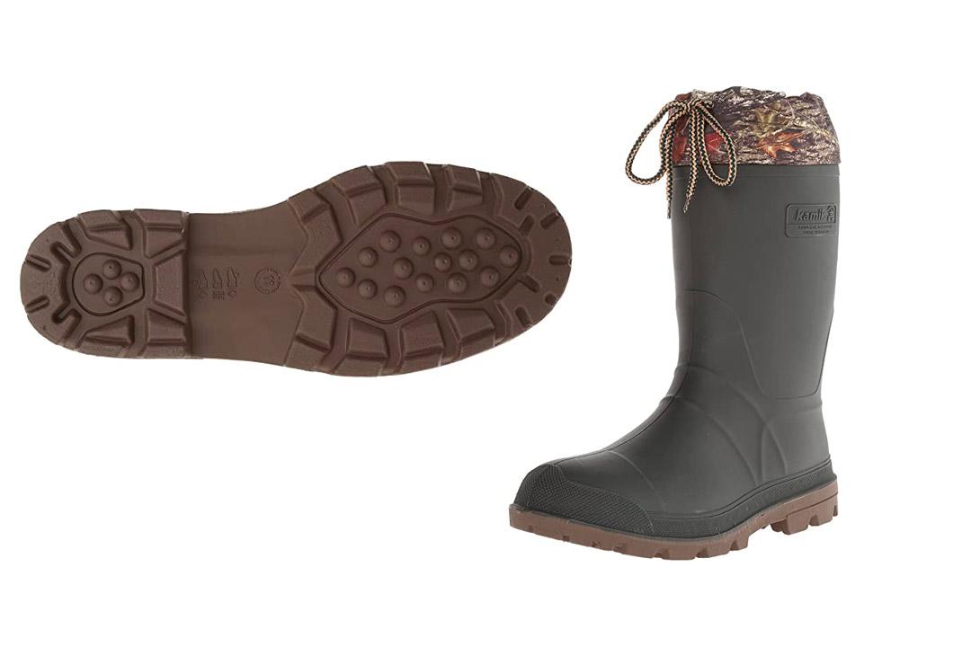 Kamik Men's Icebreaker Insulated Winter Boots
