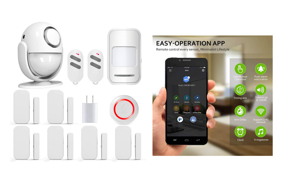PANNOVO Wireless Home Security Alarm System