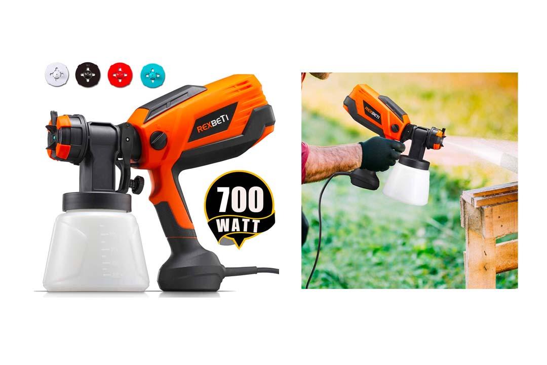 REXBETI 700 Watt High Power Paint Sprayer