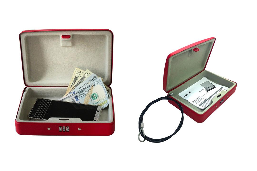 SEPOX outdoor portable steel safe locking case