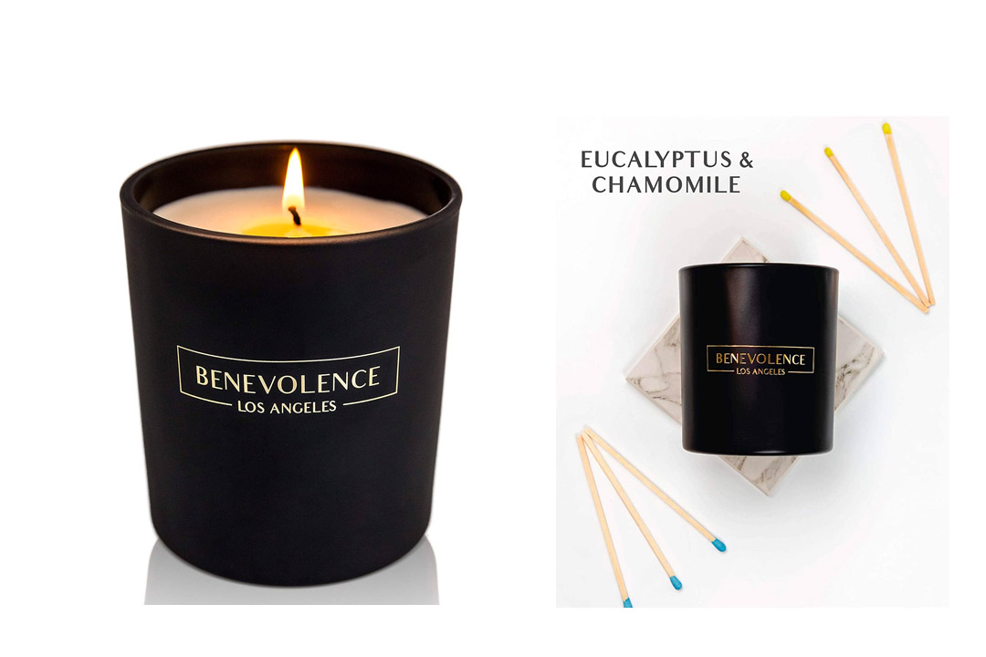 Scented Candles - Black Candle All Natural Soy Candles