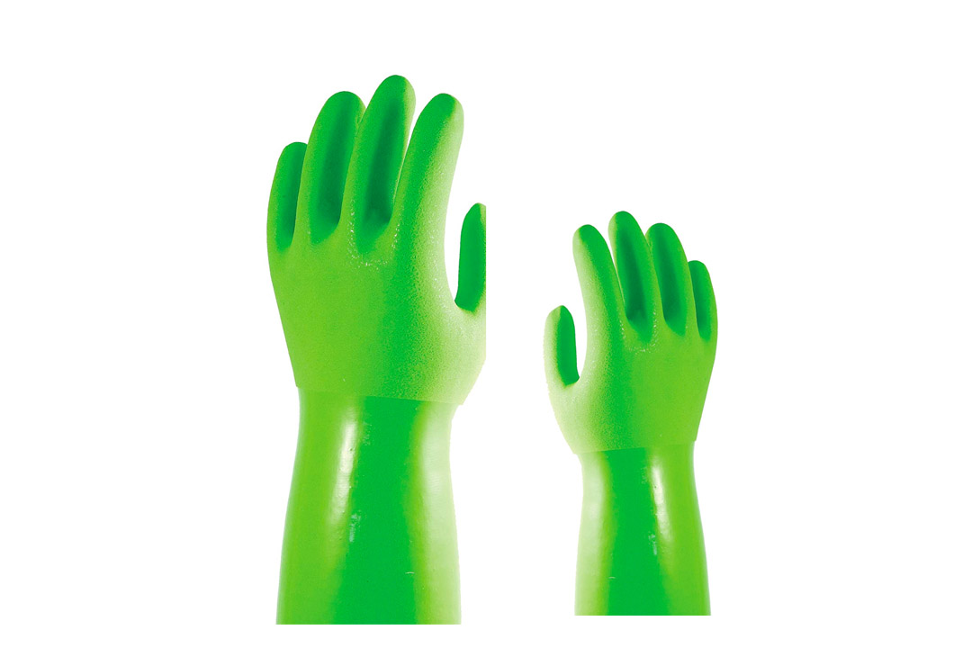 Star Kitchen TBGM True Blues Medium Green Ultimate Household Gloves