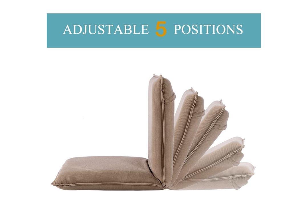 Sundale Outdoor Indoor Five-Position Multiangle Floor Chair