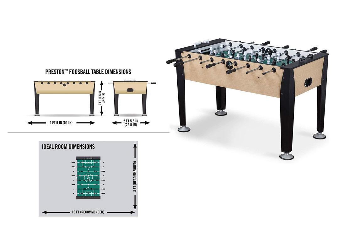 EastPoint Sports Preston Foosball Table