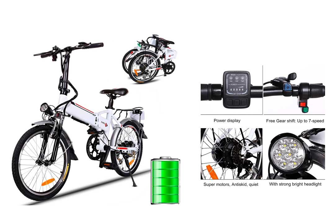 Folding Electric Bike 250W City Commuter Ebike