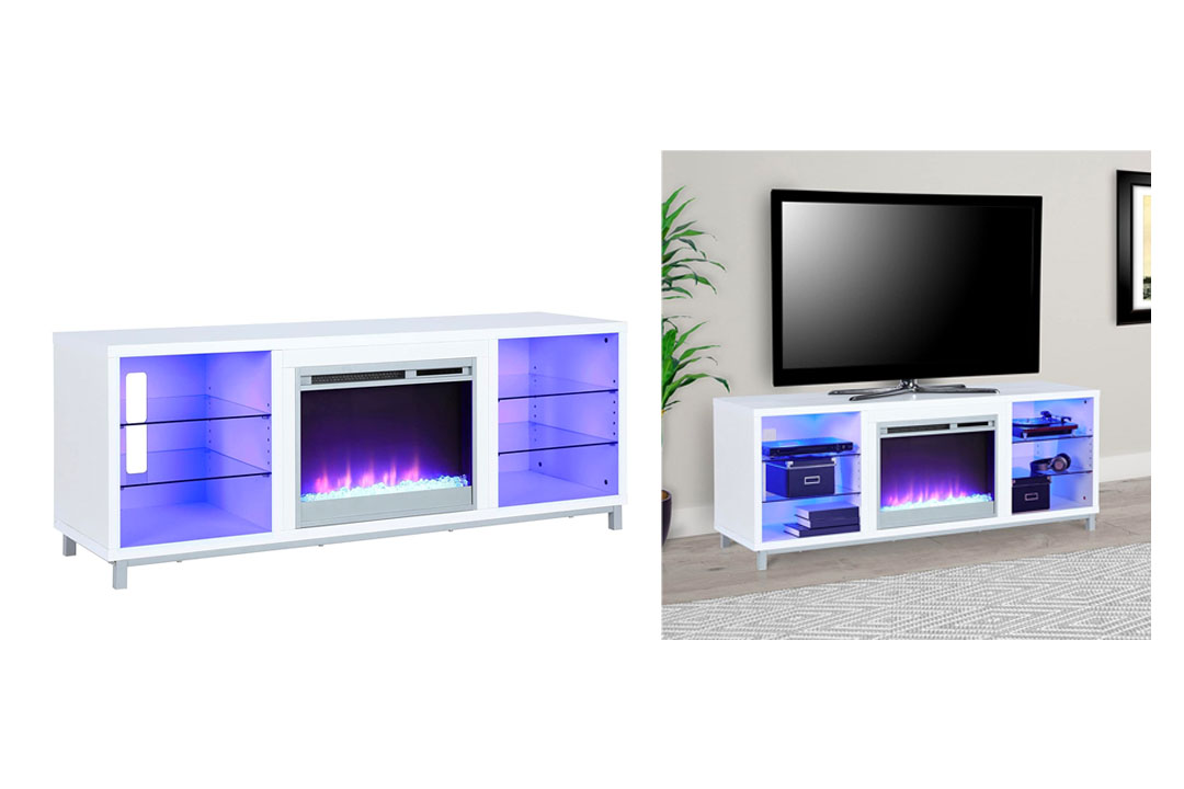 Lumina Fireplace TV Stand